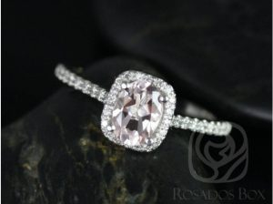 A Khaleesi style engagement ring by Love & Promise Jewelers.