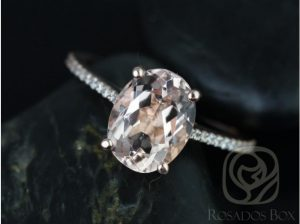 A conflict-free, American-made engagement ring by Love & Promise Jewelers