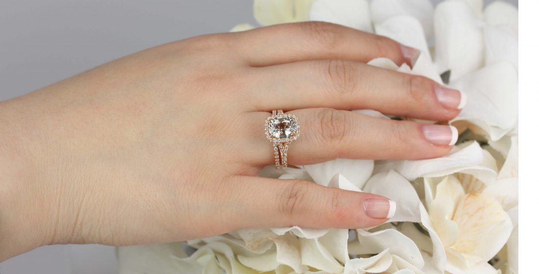 Unique Diamond-Alternatives: Peach Sapphire | Love & Promise Jewelers