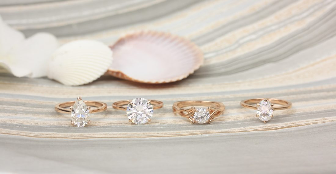 Solitaire engagement rings, perfect for any bride-to-be.