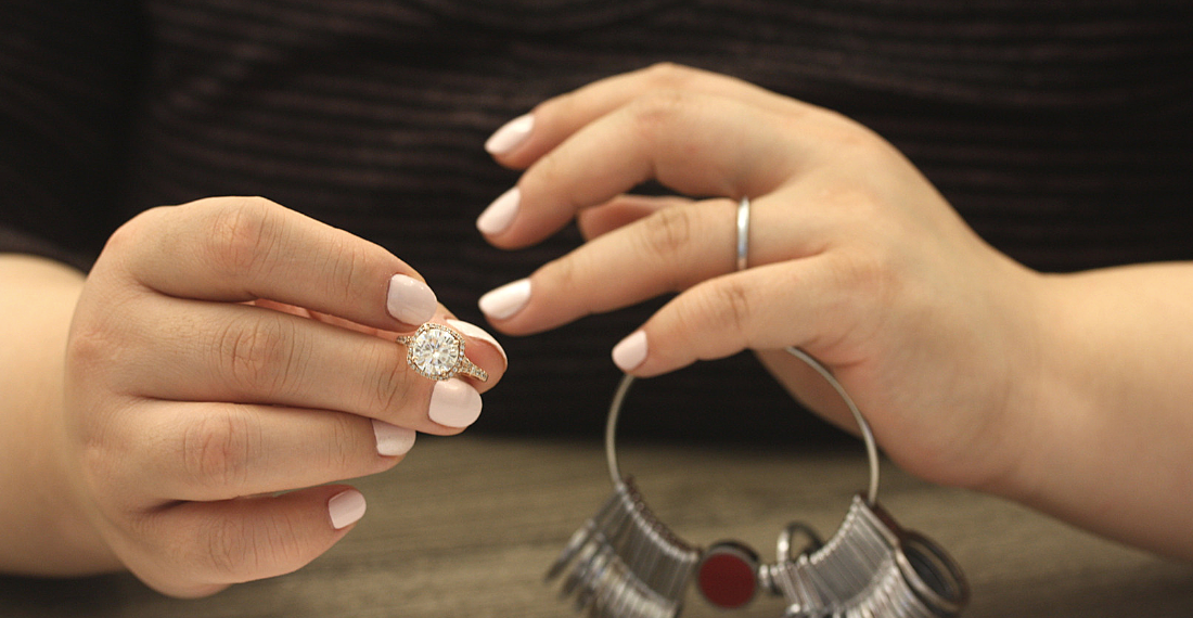 Find your perfect ring fit with Love & Promise Jewelers.