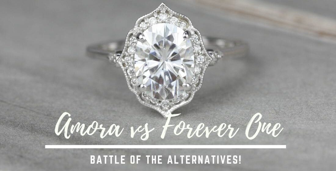 The Difference Between Amora Gems and Forever One Moissanite