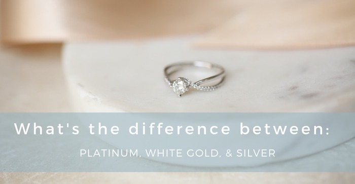 Silver vs. White Gold vs. Platinum – What's the Difference?