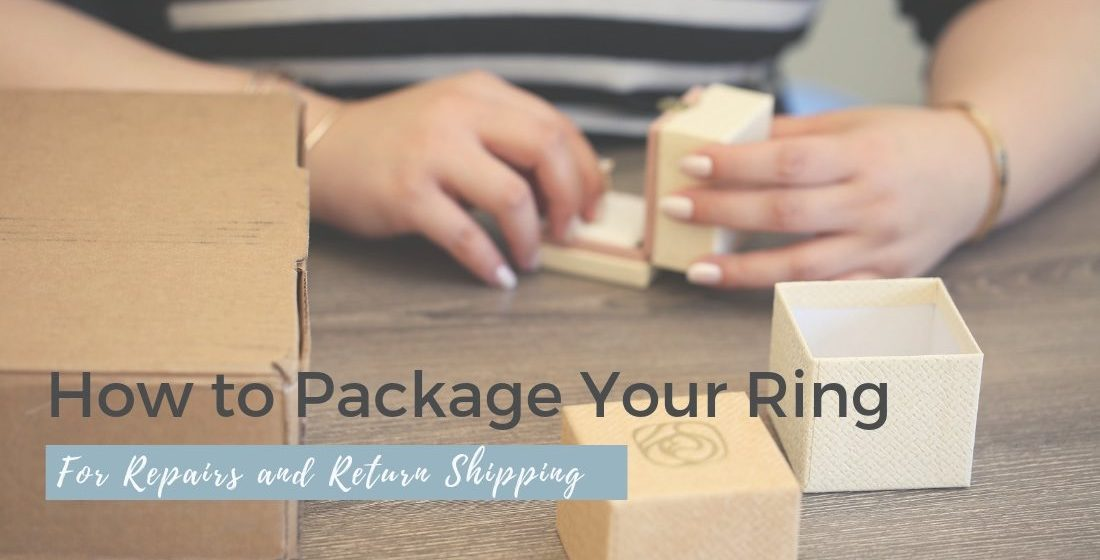 How to Pack Your Ring For Repair