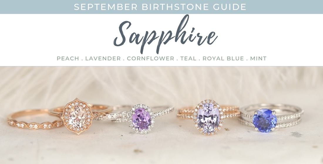 4 sapphire stone rings