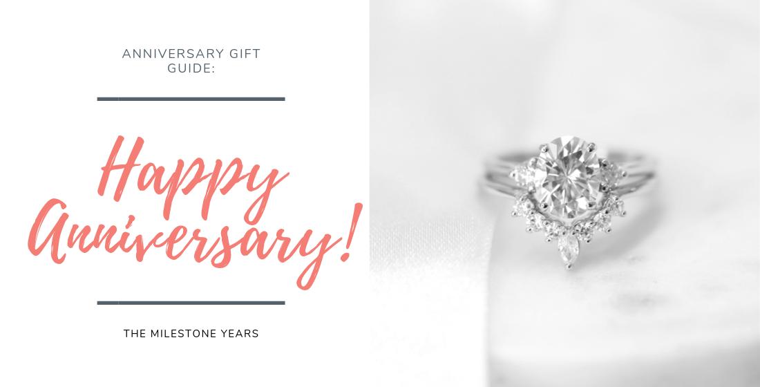 Anniversary gift guide: diamond ring stack