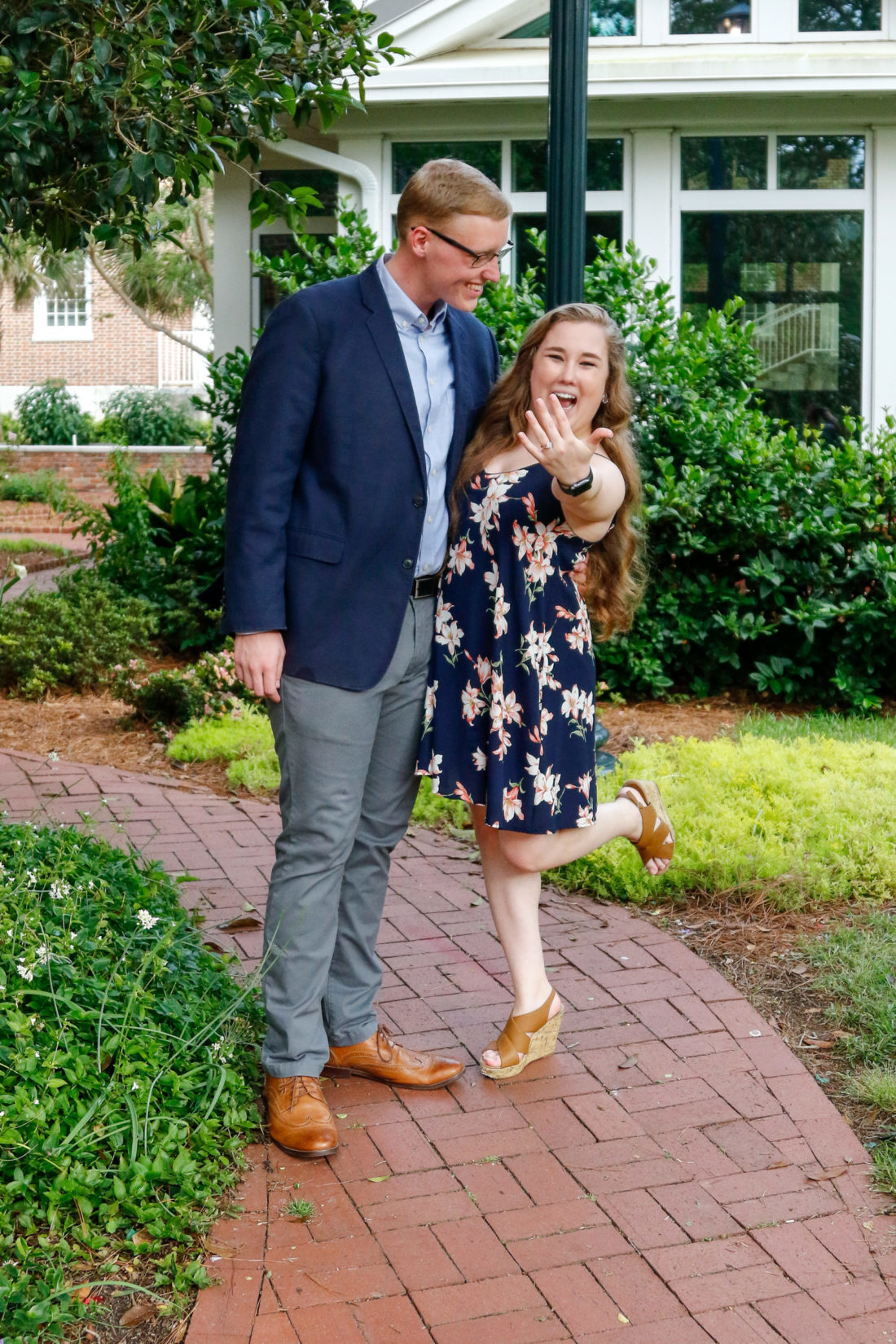 Collyn and Michaela excited to be married soon