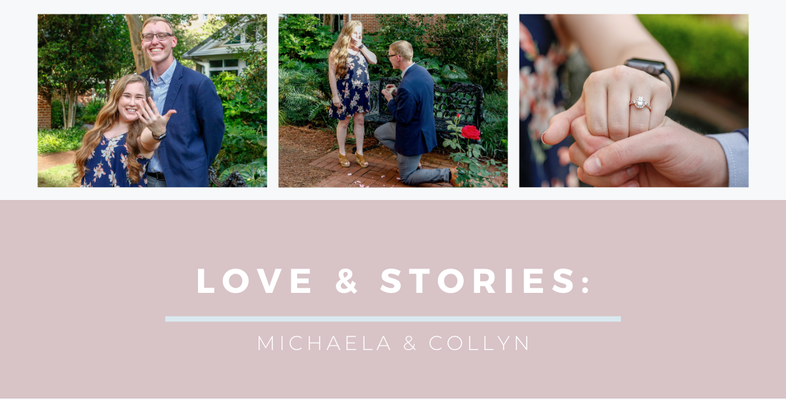 Michaela and Collyn show their love for each other and show off their new jewelry