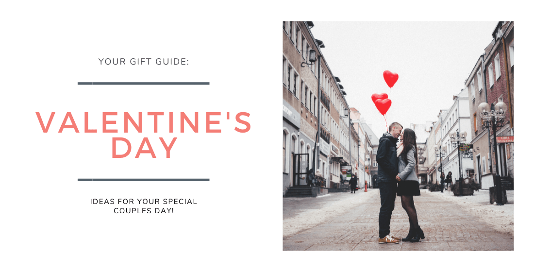 Your gift guide: Valentine's Day edition with ideas for your special couples day