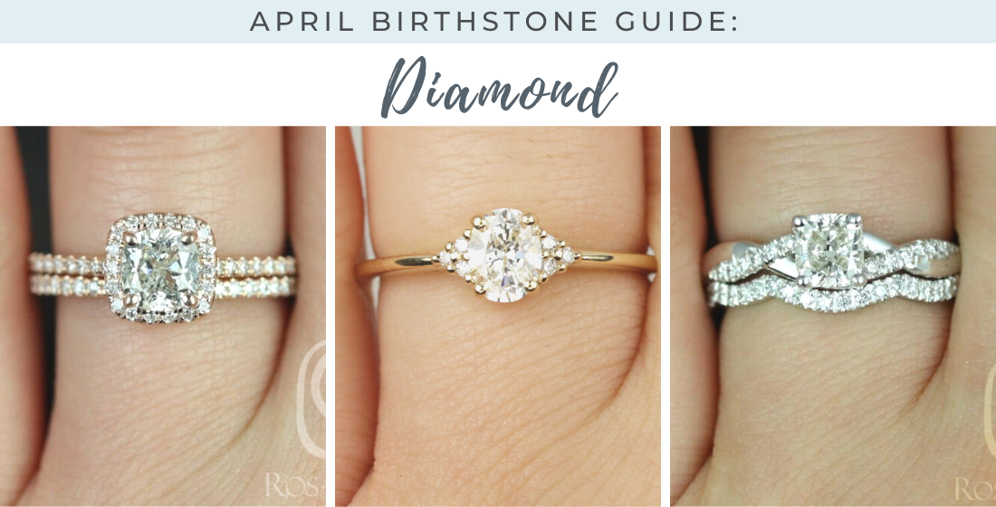 Read this guide on diamonds which are the April birthstone! You'll learn about the meaning, origin, and metaphysical & healing properties.