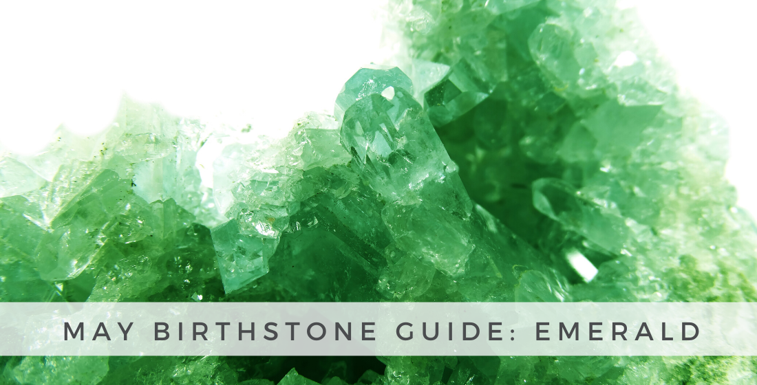 The beautiful Emerald gemstone is the May birthstone!