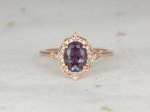 Alexandrite Mae Ring