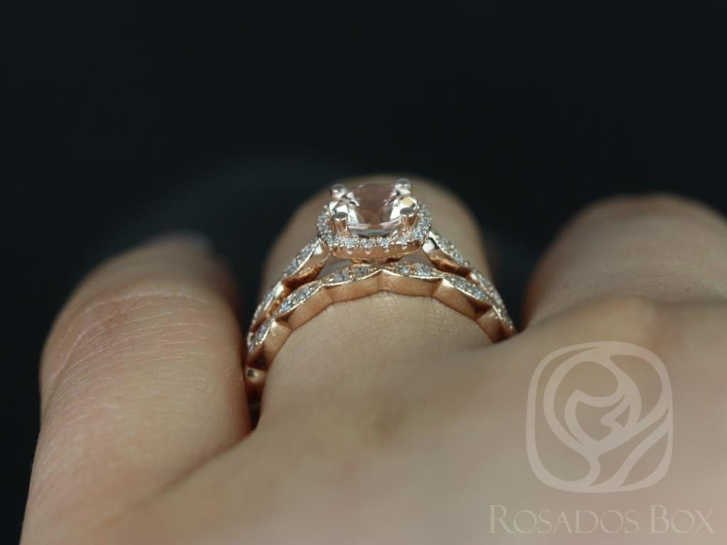 https://www.loveandpromisejewelers.com/media/catalog/product/cache/1b8ff75e92e9e3eb7d814fc024f6d8df/c/h/christie_6mm_14kt_rose_gold_morganite_and_diamonds_cushion_halo_with_milgrain_wedding_set4.jpg