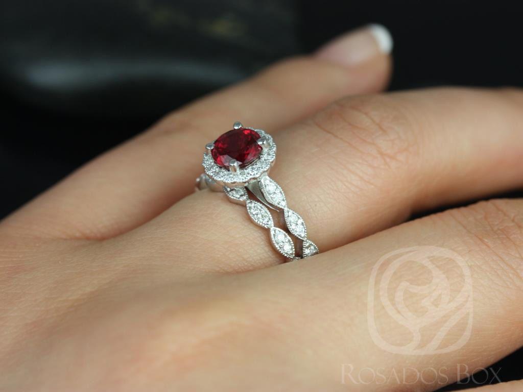 https://www.loveandpromisejewelers.com/media/catalog/product/cache/1b8ff75e92e9e3eb7d814fc024f6d8df/s/u/sunny_14kt_white_gold_crimson_ruby_diamond_flower_halo_with_milgrain_wedding_set_4wm_.jpg