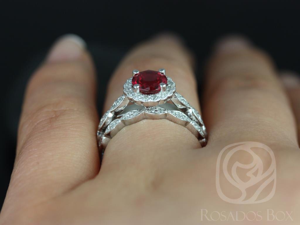 https://www.loveandpromisejewelers.com/media/catalog/product/cache/1b8ff75e92e9e3eb7d814fc024f6d8df/s/u/sunny_14kt_white_gold_crimson_ruby_diamond_flower_halo_with_milgrain_wedding_set_5wm_.jpg