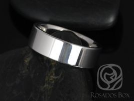 Ready to Ship Rosados Box Dougie 6mm Cobalt Straight Pipe High Finish Band