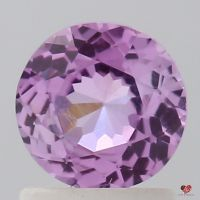 1.13cts Round Rustic Rose Magenta Sapphire