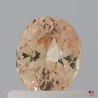 0.76cts Oval Sorbet Champagne Sapphire