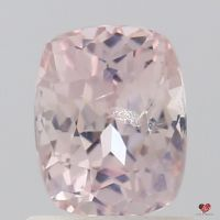 1.34cts Rectangle Cushion Light Peach Blush Champagne Sapphire