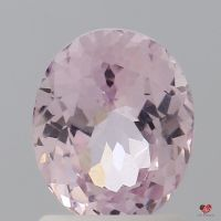 1.63cts Oval Peachy Blush Sapphire