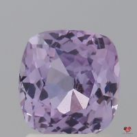 2.11cts Rectangle Cushion Medium Lavender Champagne Rose Sapphire