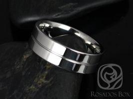 Rosados Box Ben 7mm Cobalt Single Grooved Pipe High Finish Band