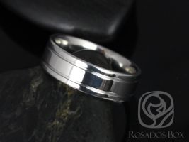 Rosados Box Jackson 7mm Cobalt Double Grooved High Finish Band