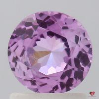 1.13cts Round Rustic Rose Magenta Sapphire