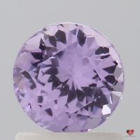 1.13cts Round Lavender Rose Sapphire