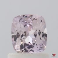 0.93cts Rectangle Cushion Medium Blush Champagne Sapphire