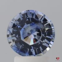 2.38cts Round Bi-Color Icy Lavender & Cornflower Blue