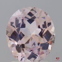 1.99cts Oval Medium Peach Blush Champagne Sapphire