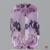 1.65cts Rectangle Cushion Medium Rose Lavender Champagne Sapphire