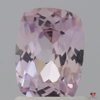1.16cts Rectangle Cushion Medium Blush Champagne Sapphire