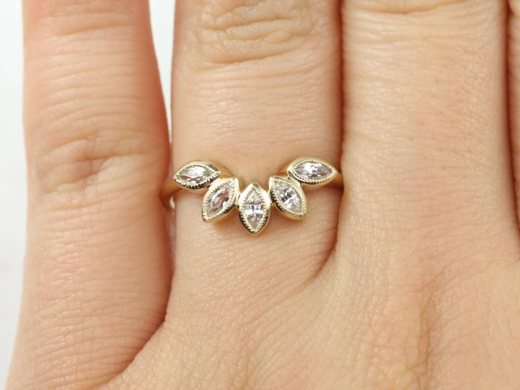 https://www.loveandpromisejewelers.com/media/catalog/product/cache/feefdef027ccf0d59dd1fef51db0610e/r/o/rosados_box_diamond_free_petunia_14kt_yellow_gold_matching_band_to_isla_7x5mm_white_sapphire_with_milgrain_wedding_band_3_.jpg